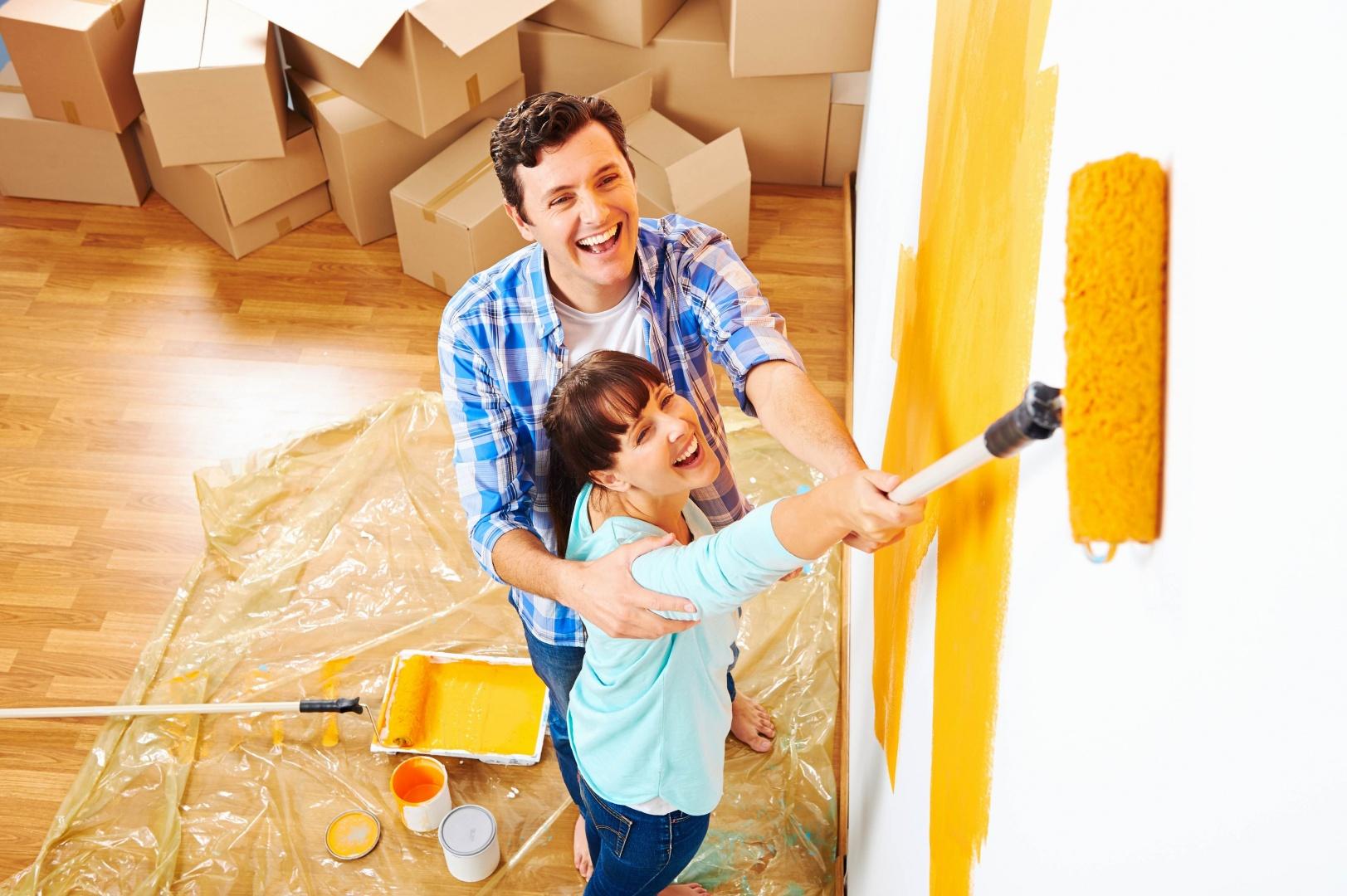Смешные картинки муж с женой делают ремонт, для
